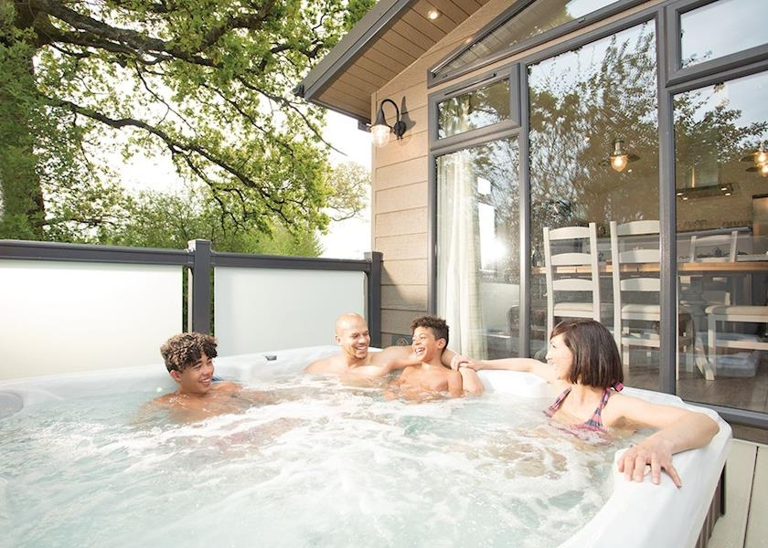 Devon lodges with hot tubs