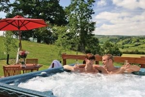 Lodges in Wales with hot tubs